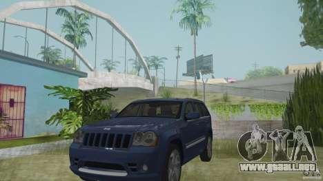 Jeep Grand Cherokee SRT8 2009 para GTA San Andreas