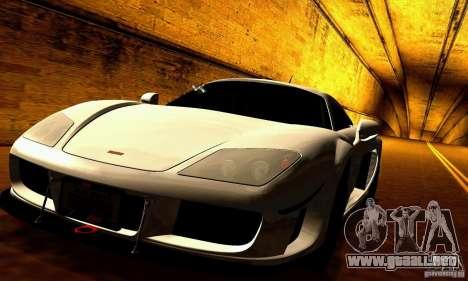 Noble M600 para vista inferior GTA San Andreas