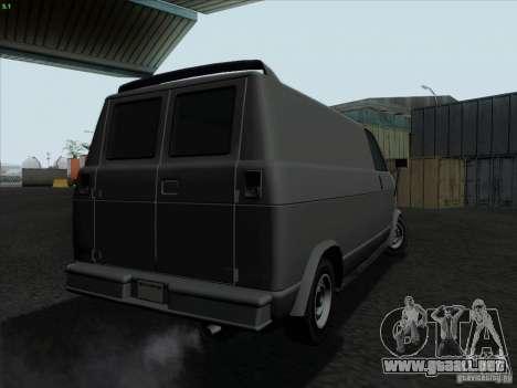 Burrito 2007 para la visión correcta GTA San Andreas