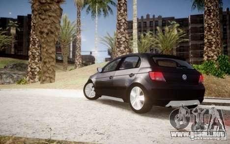 Volkswagen Gol Rallye 2012 para GTA 4 left