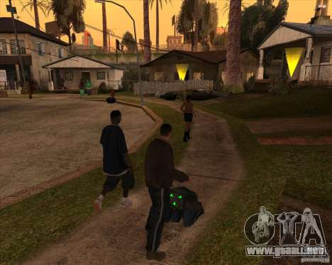Kick in the balls para GTA San Andreas segunda pantalla
