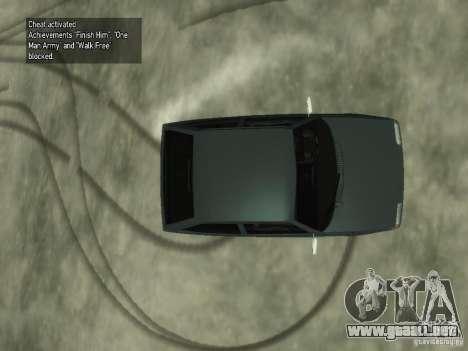 ZAZ Tavria 1102 para GTA 4 vista hacia atrás