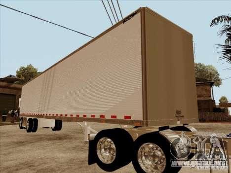 Trailer, Peterbilt 379 personalizado para GTA San Andreas