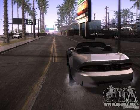 ENBSeries para Pack Ultra Vegetetions para GTA San Andreas octavo de pantalla