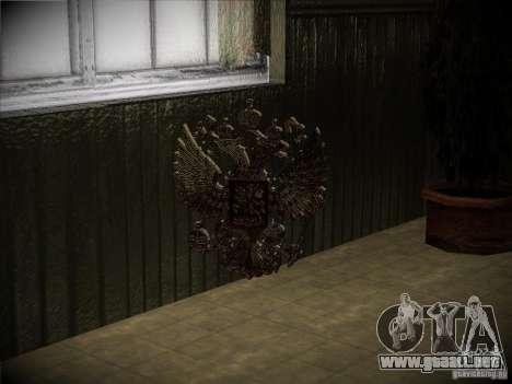 Escudo de armas de Rusia para GTA San Andreas segunda pantalla