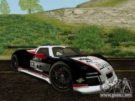 Gumpert Apollo S 2012 para vista lateral GTA San Andreas