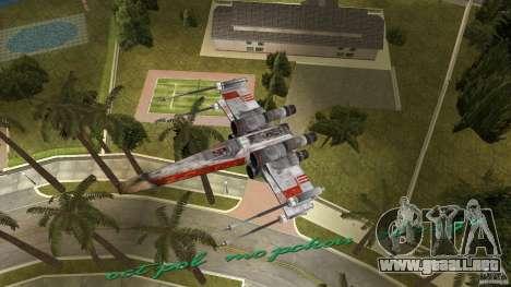 X-Wing Skimmer para GTA Vice City vista lateral