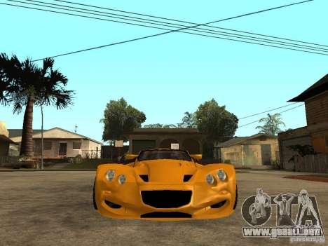 Gillet Vertigo para la visión correcta GTA San Andreas