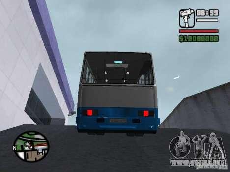 Ikarus 260 seguridad para visión interna GTA San Andreas