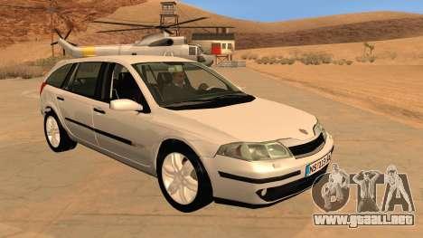 Renault Laguna II para visión interna GTA San Andreas