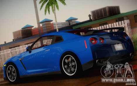 Nissan GTR Egoist para GTA San Andreas left