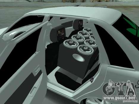 Lada Priora Adidas para la vista superior GTA San Andreas