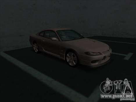 Nissan Silvia S15 Tunable KIT C1 - TOP SECRET para GTA San Andreas left