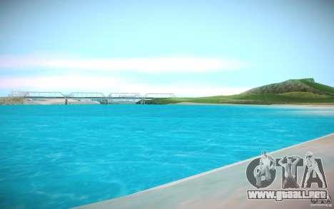 Agua HD para GTA San Andreas tercera pantalla