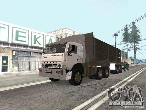 KAMAZ 5410 para GTA San Andreas left