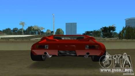 De Tomaso Pantera para GTA Vice City visión correcta