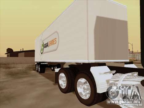 Caband trailer para GTA San Andreas left