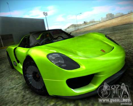 ENBSeries by ibilnaz para GTA San Andreas sexta pantalla