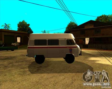 3962 UAZ MOE para GTA San Andreas left