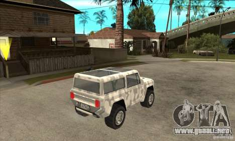 Ford Bronco Concept para la visión correcta GTA San Andreas
