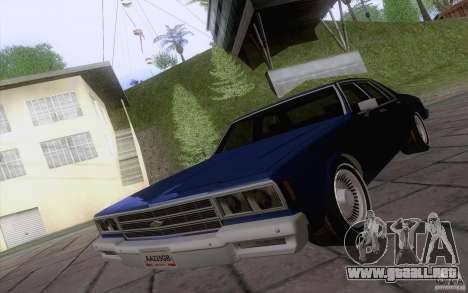 Chevrolet Caprice Clasico para GTA San Andreas left