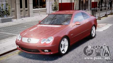 Mercedes-Benz CLK 63 AMG 2005 para GTA 4 left