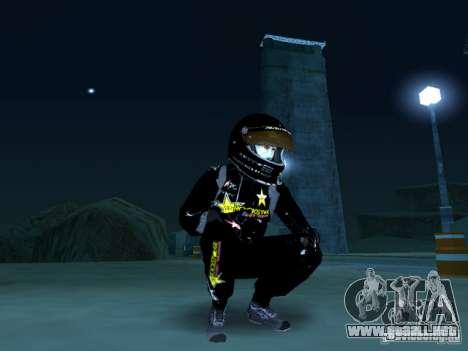 Rockstar PED para GTA San Andreas segunda pantalla