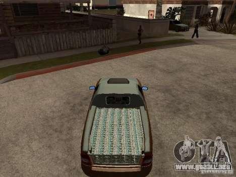 LADA 2170 Pickup para la visión correcta GTA San Andreas