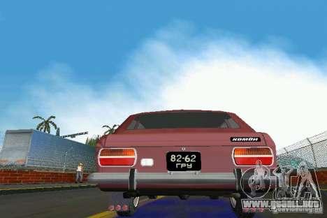 IZH-2125 Kombi para GTA Vice City vista posterior