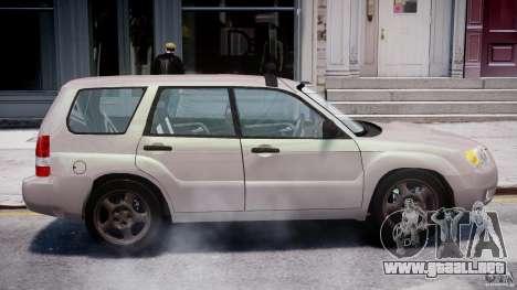 Subaru Forester v2.0 para GTA 4 vista lateral