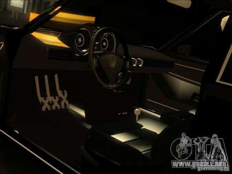 Volkswagen Passat 1.9A para la vista superior GTA San Andreas