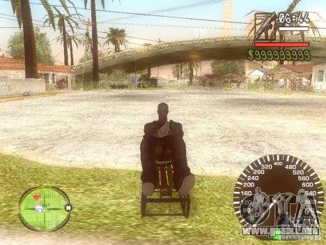 Sani para la visión correcta GTA San Andreas