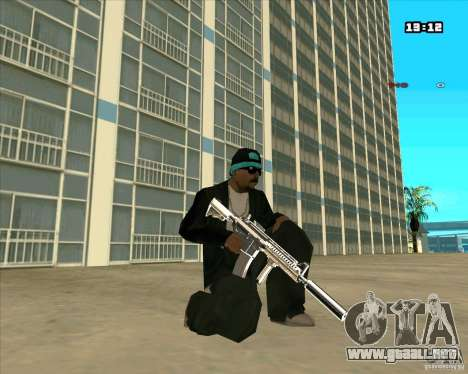 Chrome Weapon Pack para GTA San Andreas quinta pantalla