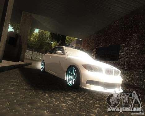 BMW 135i Hella Drift para GTA San Andreas