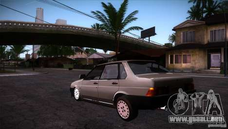 Fiat Regata para GTA San Andreas vista posterior izquierda
