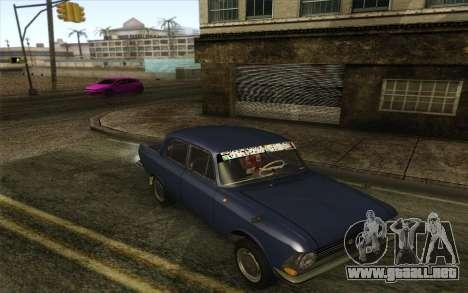 IZH 412 Moskvich para GTA San Andreas left