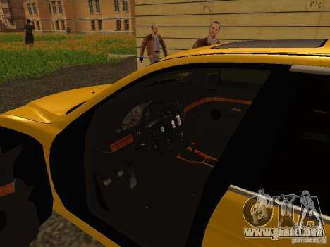 BMW 540i para GTA San Andreas vista hacia atrás