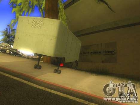 Remolque Odaz 794 para GTA San Andreas vista posterior izquierda