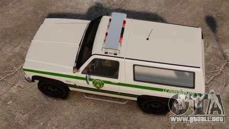 Policía ranchero ELS para GTA 4 visión correcta