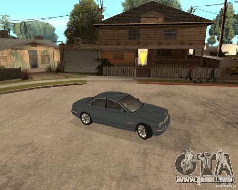 Jaguar XJ-8 2004 para la visión correcta GTA San Andreas