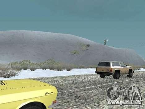 Frozen bone country para GTA San Andreas segunda pantalla