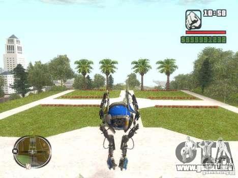 Robot de Portal 2 # 3 para GTA San Andreas segunda pantalla