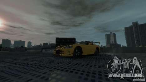 Dodge Viper SRT-10 ACR 2009 para GTA 4 vista hacia atrás