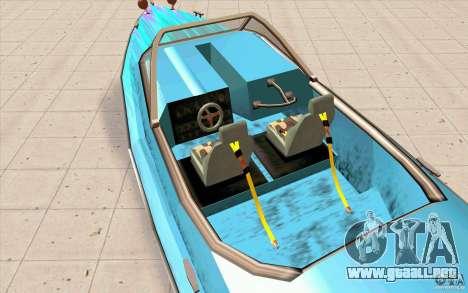 Hot-Boat-Rot para GTA San Andreas vista hacia atrás