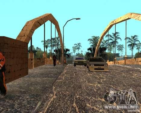 New Ghetto para GTA San Andreas sucesivamente de pantalla