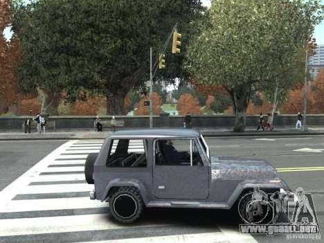 Mesa en GTA San Andreas para GTA IV para GTA 4 Vista posterior izquierda