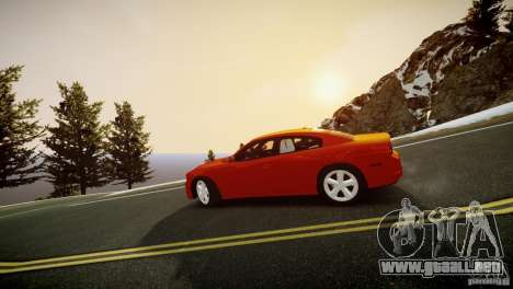 Dodge Charger R/T 2011 Max para GTA 4 Vista posterior izquierda