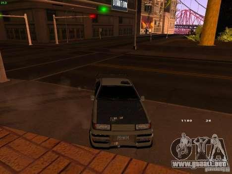New Racing Style Fortune para la visión correcta GTA San Andreas