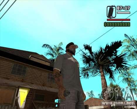 Granada de Xenus 2 para GTA San Andreas