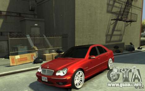 Mercedes-Benz C32 AMG Light Tuning para GTA 4